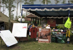 Booth WWF @ Ranca Upas