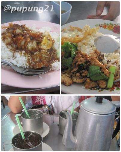 Makanan di sebuah chinnese food di Krabi, paling cocok di lidah kami