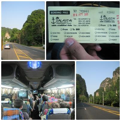 Perjalanan menuju Krabi Town