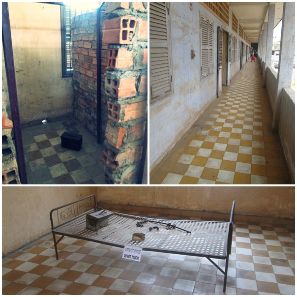 Beberapa sudut penjara, sebenarnya banyak foto dan ilustrasi kekejaman rezim Khmer Merah, tapi saya tidak tega untuk menampilkannya di sini